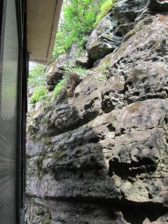 Our backyard crag