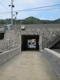 Underpass to Bitou Village