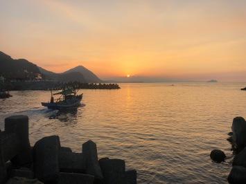 Catch a beautiful sunset at Bitou Harbour
